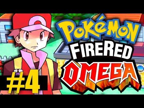 Pokemon Fire Red Omega - Part 4 - Mt. Moon Adventures! (New Pokemon!)