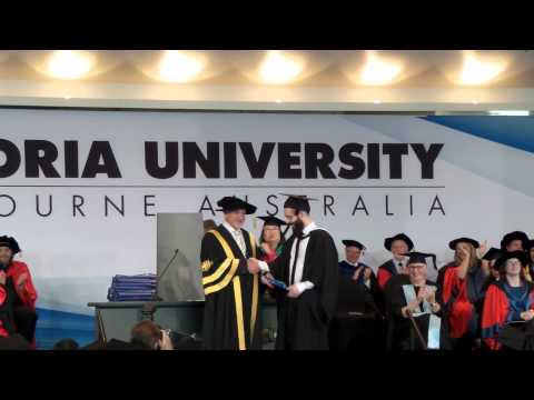 Adam Bromage - Bachelor of Science (Psychology) (Honours) Graduation 2015