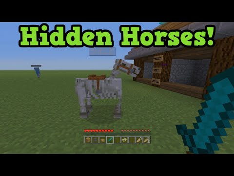 Minecraft Xbox + PS3 - ZOMBIE HORSE & SKELETON HORSE in TU19