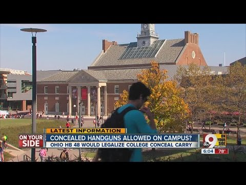 Bill would allow concealed carry guns on Ohio campuses, dfaycares and airports
