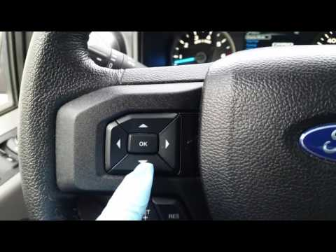How to reset oil change light 2015 Ford F150