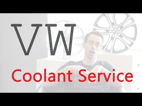 VW Coolant Service (Flush) ... When do I need to do it?