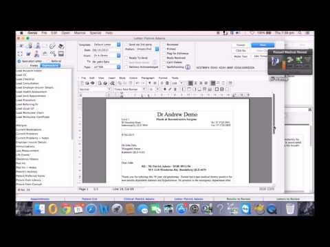 Genie Solutions &  Dragon Dictate Mac Medical Demo