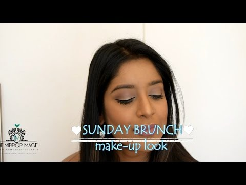 Sunday Brunch Make up Look II The Mirror Image