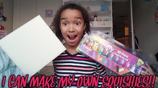 Download I CAN MAKE MY OWN SQUISHIES!!! Video