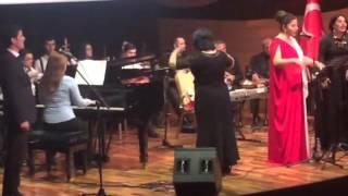 """ifalar:  ÇİĞDEM GÜRDAL ve RASİME MURADOVA söz:  EKREM YALBUZ beste: ELZA SEYİDCAHAN  TURK DÜNYASI KONSRLERİ DİZİSİ """"MAHNIDAN ŞARKIYA"""" AZƏRBAYCAN - BAKÜ KONSERİ"""