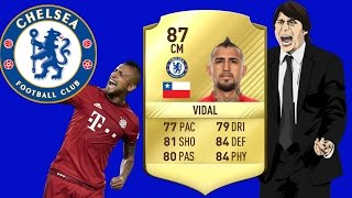 VIDAL TRANSFER TO CHELSEA!!? FIFA 17 Ultimate Team
