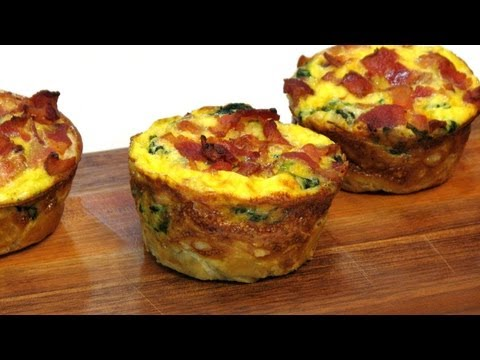 Mini Breakfast Souffles  - Lynn's Recipes