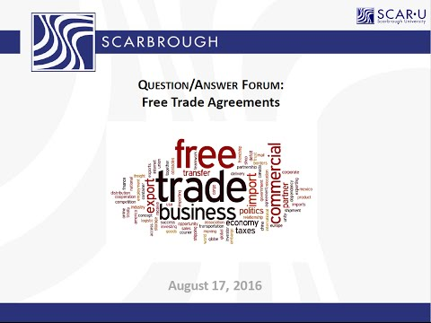 Free Trade Agreement With Mexico Free Trade