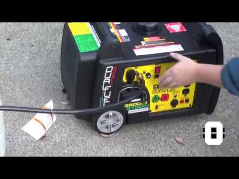 Champion 3500 watt Dual Fuel Generator, Set Up, Test, and Review