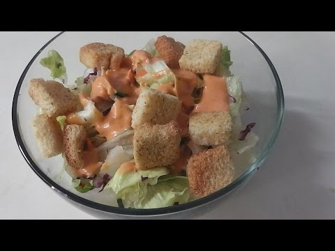 Simple Salad (Like before dinner when you dine out)