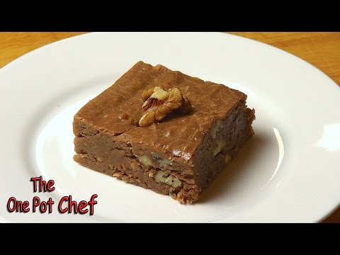 No Bake Chocolate Brownies | One Pot Chef