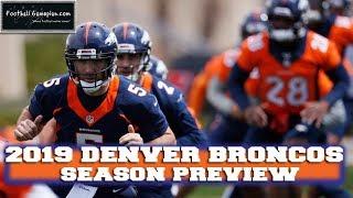 Download Football Gameplan's 2019 NFL Team Preview: Denver Broncos Video