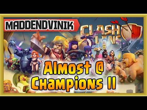Clash of Clans - We're Almost at Champions II (Gameplay Commentary)