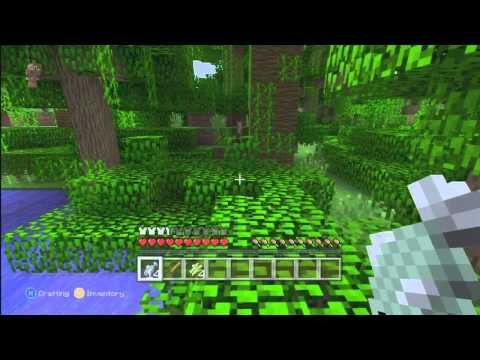 Minecraft Xbox 360 Edition: how to tame a ocelot tutorial