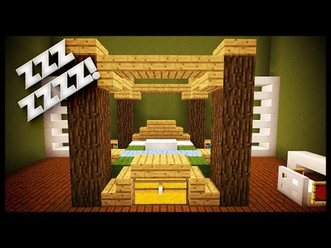 Minecraft: How To Make A Realistic Usable Bed