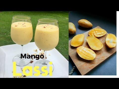 Restaurant Style Mango Lassi #Ramadan Recipes