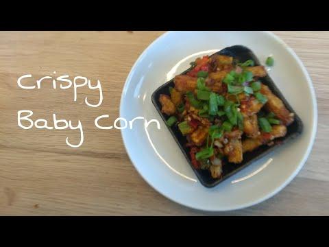 Crispy Chilli baby Corn/ Baby Corn recipe/How to make baby chilli corn restaurant style