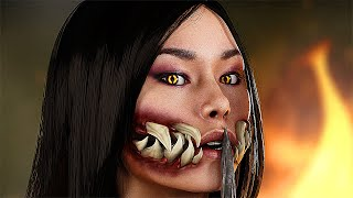 Mortal Kombat 11 Mileena - Shao Kahn Find Out What Happened to His Daughter (MK11)