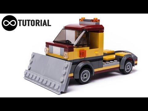 LEGO City SNOW PLOW moc 60150 alternate build