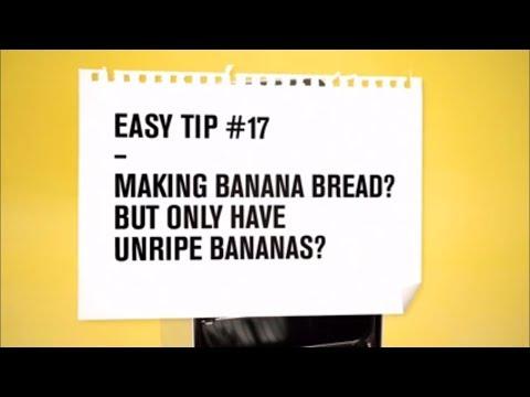 Zanussi Easy Tips: Ripen bananas fast