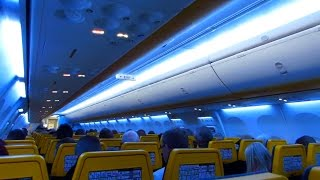 TRIP REPORT | RYANAIR | Dublin to London STN | SKY INTERIOR Cabin | 737-800 (EI-FRR) [Full HD]