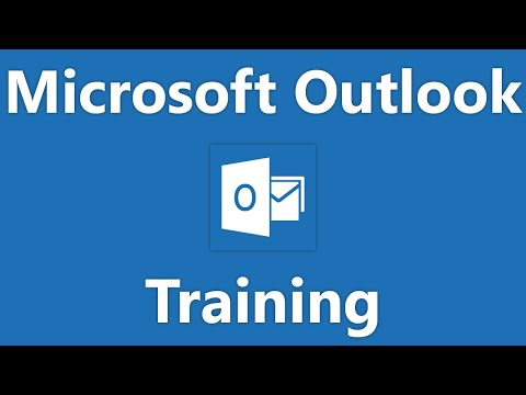 Outlook 2010 Tutorial Printing Contacts Microsoft Training Lesson 2.5