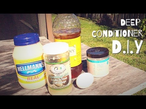 Natural Hair | Moisturizing D.I.Y Deep Conditioner