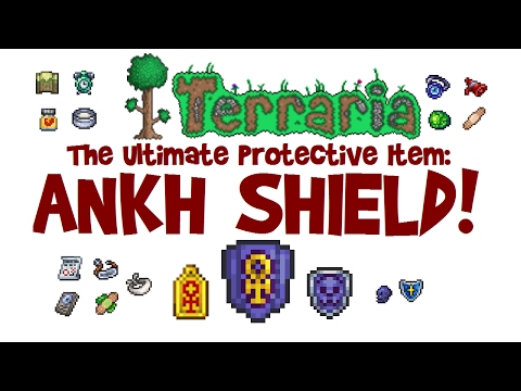 Terraria ANKH SHIELD (+CHARM)! Guide, farm & crafting recipe (1.3, IOS, Android, Xbox, PS4 etc)