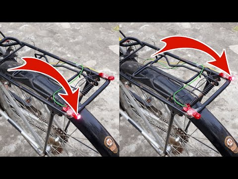 How To Make Bicycle Turn Signal Indicator Light