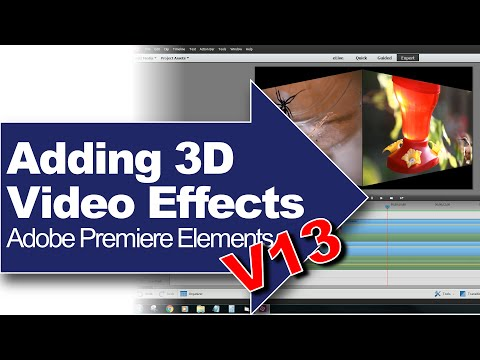 Adding 3D Video Effects: Adobe Premiere Elements