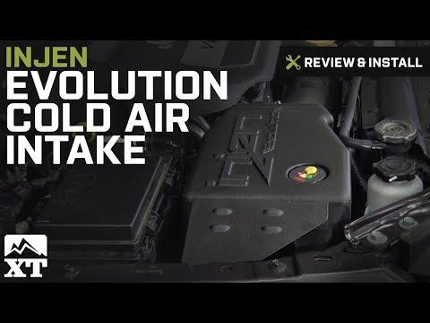 Jeep Wrangler (2012-2017 JK) (3.6L) Injen Evolution Cold Air Intake Review & Install