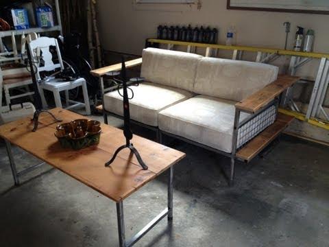 Dale Weller - Metal Sofa Construction Time Lapse