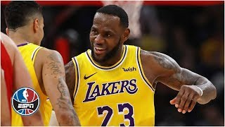 LeBron James fuels Lakers