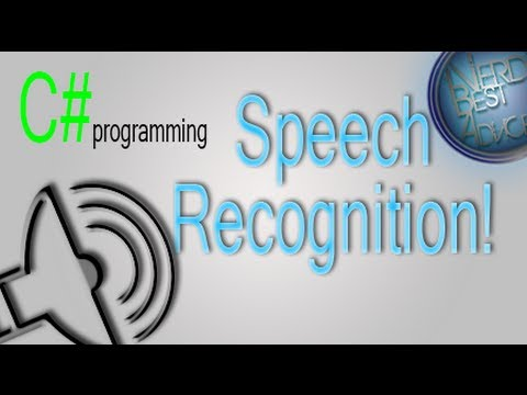 C# Programming | Speech Recognition & Text to Speech!!! [Full Tutorial]