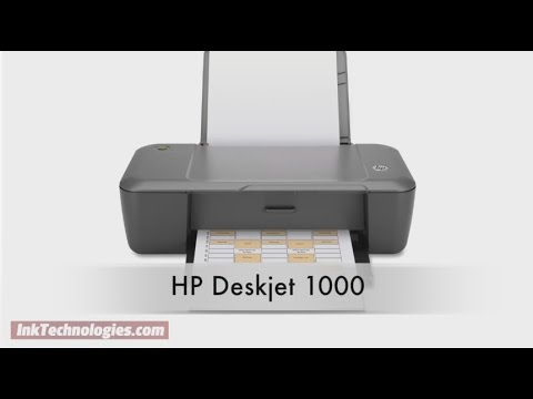 HP Deskjet 1000 Instructional Video