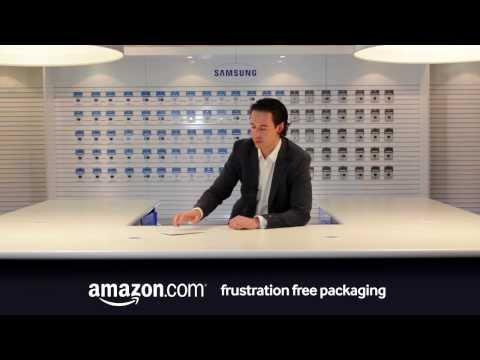 Unboxing of the Samsung 64GB Class 10 SDXC Pro Memory Card in Amazon frustration free packaging