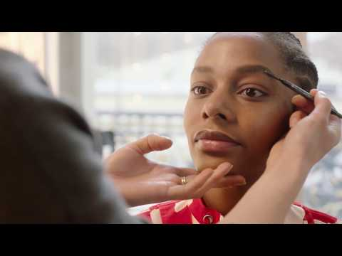 H&M Beauty Tutorial with Isamaya Ffrench - The Studio S/S 2018 runway beauty look