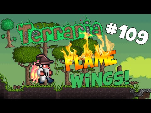 Let's Play Terraria (1.2) iOS/Android Edition -Flame Wings & Demon Scythe! - Episode 109
