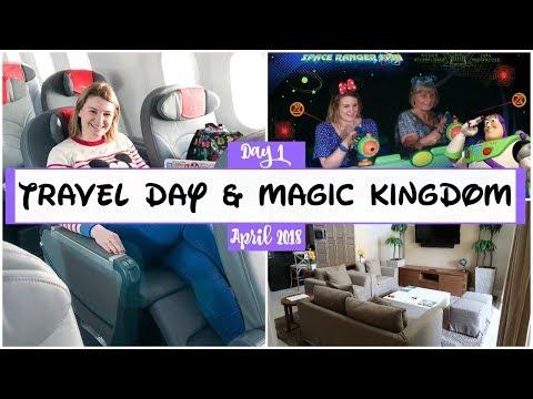 Travelling to Disney World - April 2018   Charlotte Ruff
