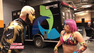 Goldust & Asuka employ a bizarre communication style to discuss Mixed Match Challenge: Dec. 18, 2017