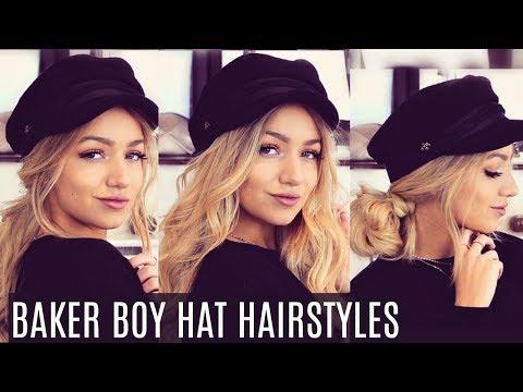 5 EASY BAKER BOY HAT HAIRSTYLES 2018 / INSTAGRAM INSPIRED!