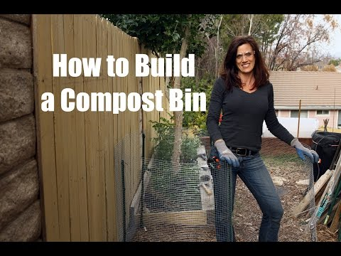 How to Build a Compost Bin - Quick, Simple and Inexpensive