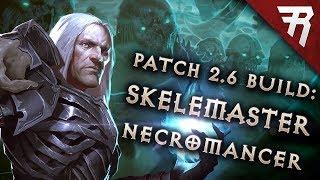 Diablo 3 2.6.5 Necromancer Build: Minion Starter & End-game Rathma Gr 119  (guide, Season 17)