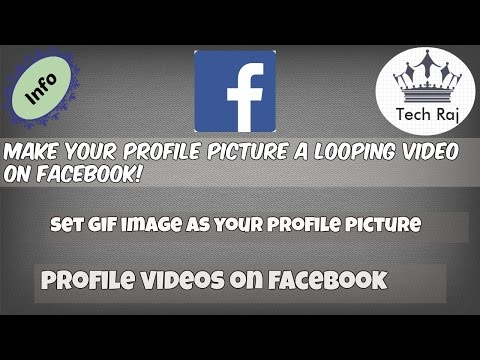 Facebook Trick - Make Your Profile Picture a Looping Video | Profile Video on Facebook