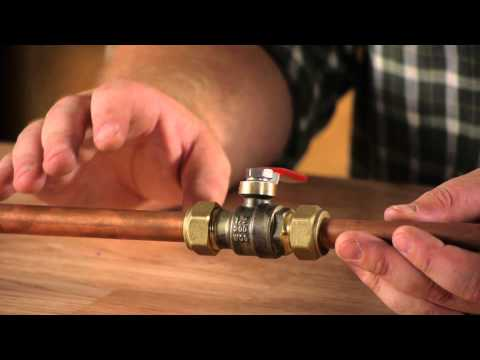 Plumbing Problems With Copper Compression Fittings : Plumbing Repair
