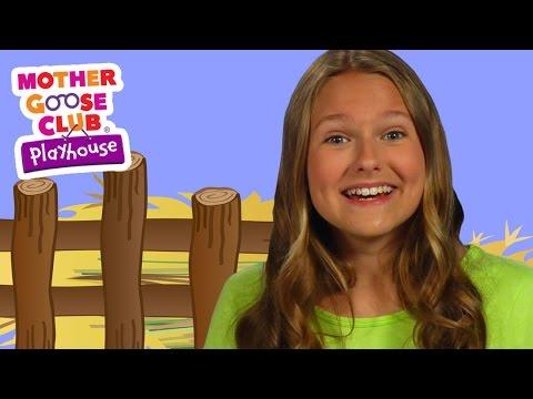 All Around the Barnyard | Mother Goose Club Playhouse Kids Video