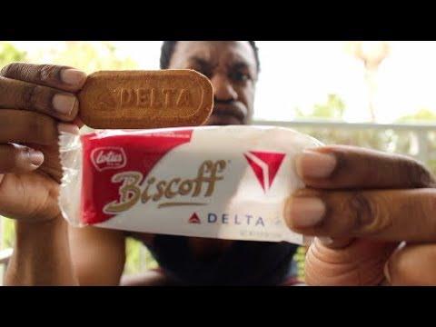 Lotus Biscoff Delta Airlines Cookies
