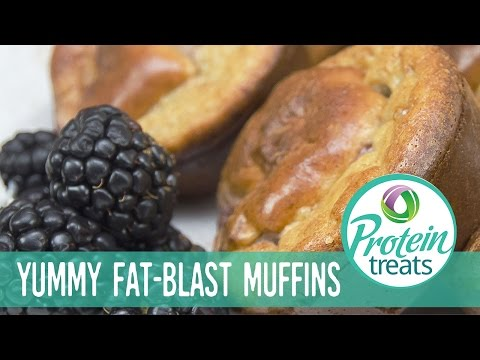 Raspberry Protein Muffins – Protein Treats by Nutracelle