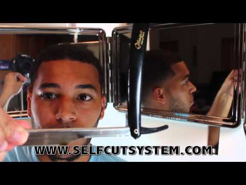 HOW TO GIVE YOURSELF A RAZOR HAIRLINE - SELF-CUT SYSTEM TUTORIAL